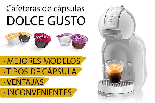 Cafeteras Dolce Gusto: cápsulas y mejores modelos para comprar