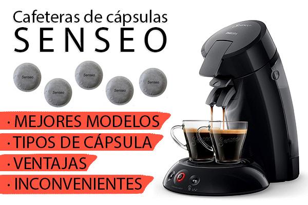 Cafeteras Senseo: cápsulas y mejores modelos para comprar